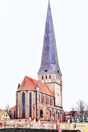 St. Petri Kirche / Rostock. No HDR Urban Minimalism Urbex The Press - Work