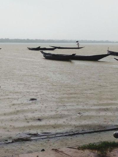 River Boat Rain