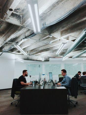 Office Work Modern Office Modern Interior Dev Developer Technology Studio Coworkers