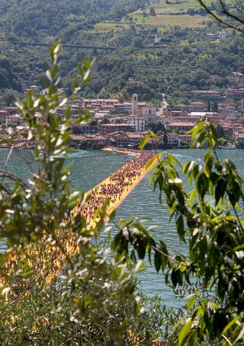 Water Built Structure Nature Architecture Growth Building Exterior No People Agriculture Outdoors Tree Beauty In Nature Scenics Day Streetphotography Thefloatingpiers Monteisola Sulzano Taking Photos Popular Photos 43GoldenMoments Femalephotographerofthemonth Travel Traveling People LandArt