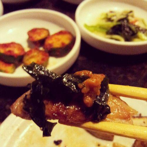 Happiness is Food . ㅋㅋㅋ Korean Foodporn Haveabite