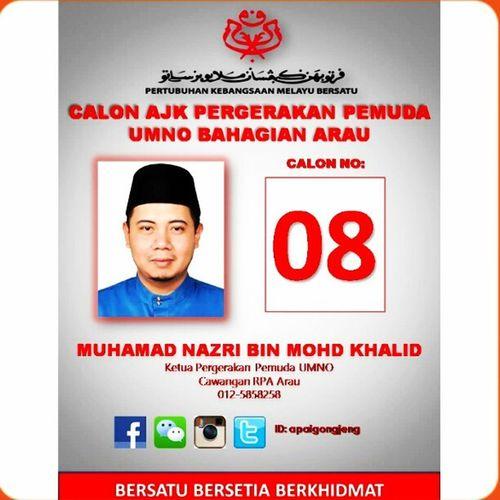 Persediaan menghadapi pemilihan UMNO.. Umno Bahagian Arau Pemuda pemudaumno puteriumno wanitaumno umnoperlis pemilihanumno