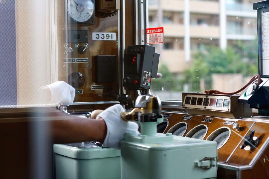 Train Operator Train Engineer Hand Working Hands Train Japan White Gloves shot on canon DSLR 50mm f1/1.8