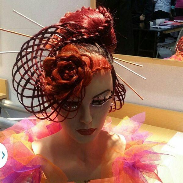 Le temps d'un instant 🎀 Hair Cheveux Coiffure Chignon  Tresseprestige Beauteselection Lyonnais 2ème Passion