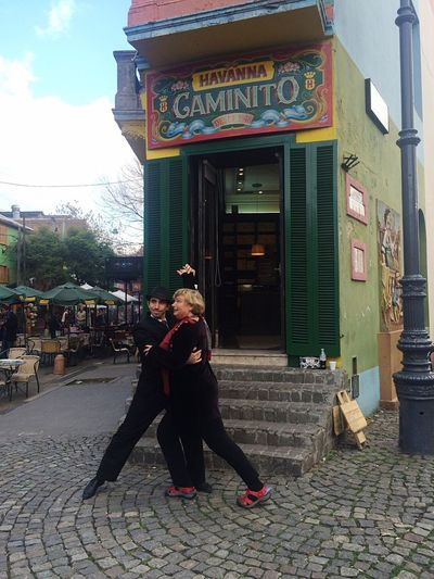 Caminito Tango Tourist Attraction  Buenosaires Laboca
