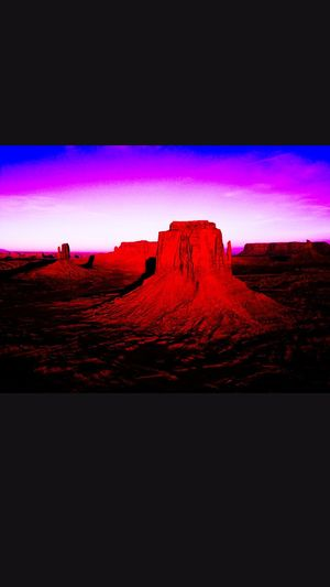Sand Dune Desert Arid Climate Red Rock - Object Mountain Sunset Rock Formation Extreme Terrain Sky First Eyeem Photo