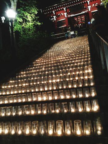Illuminated Night Lighting Equipment No People Outdoors Tree 夢の灯り
