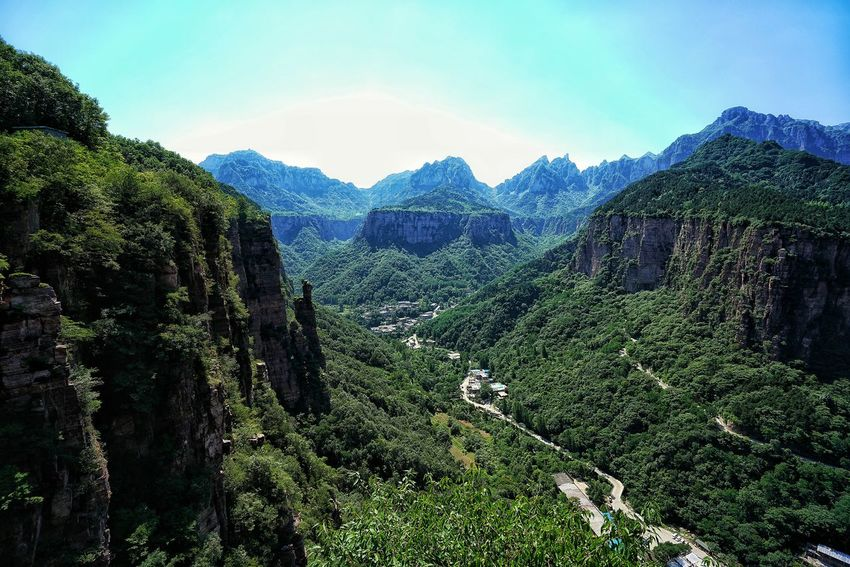China Photos On A Hike Mountain Goat Take A Break Nature Mountain View Mountains And Sky Mountains Urban Nature Outdoors Nature Rock - Object Mountain Summer Green Landscapes Taking Photos Travel Wildlife & Nature Streamzoofamily