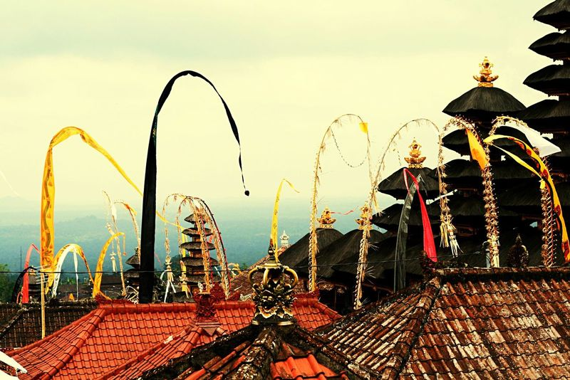 Bali besakih temple Bali Bali, Indonesia Besakih Temple Temple Holiday Taking Photos