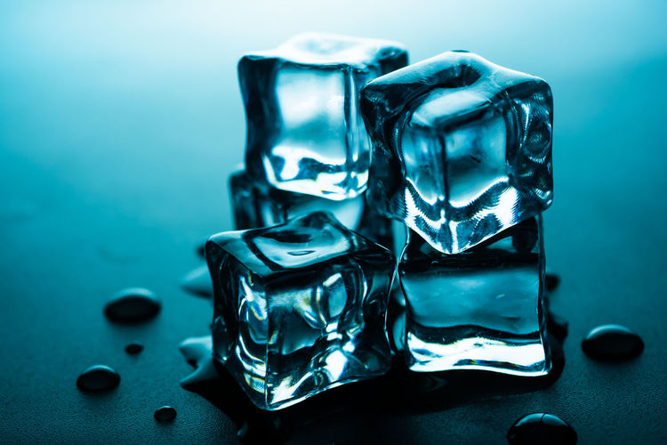ice cubes with
