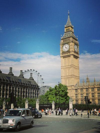 Beautiful Day Fantastic City London Sunshine ☀ Big Ben