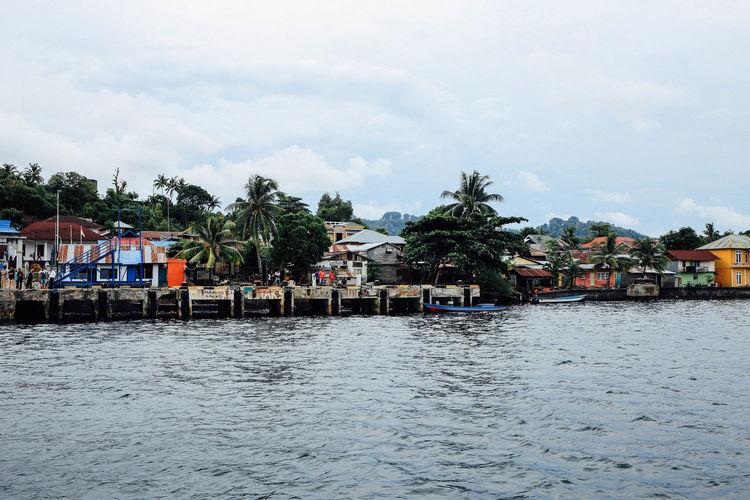 ASIA Banda Banda Neira City INDONESIA Landscape Nautre Ocean Outdoor Photography Outdoors Sea Sky Traveling Waer