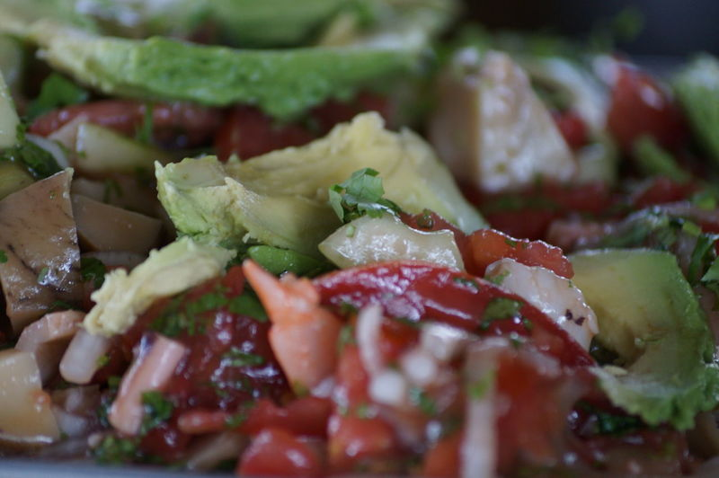 #aguacate #cocktails #lunchtime #mariscos #salads #seafood #shrimp #Tungar #villahermosa Close-up Food Green Color Ready-to-eat Vegetable