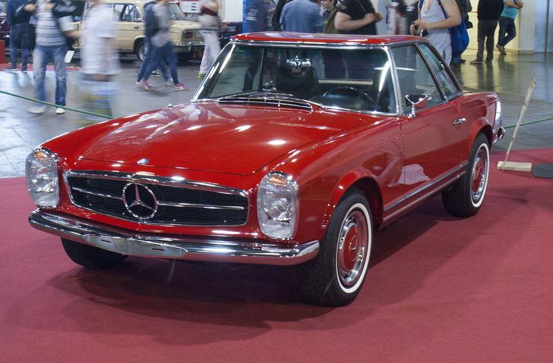 280sl Car Classic Classic Car Mercedes Mercedes 280SL Mercedes-Benz Mode Of Transport Oldtimer Red Transportation