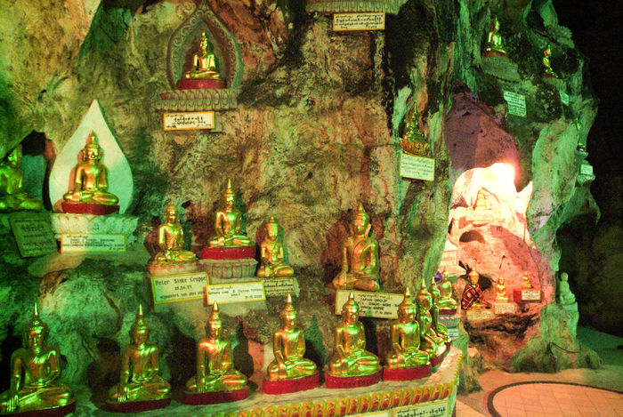 Buddha Golden Altar Burma Cave Close-up Day Human Representation Idol Indoors  Myanmar No People Place Of Worship Religion Sculpture Spirituality Statue Staue  Tree