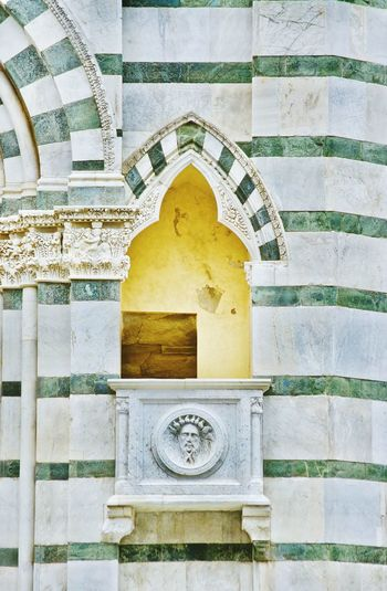 Outdoors No People Close-up High Contrast Pistoia Romantic Gothic Beauty  Gothic Style Gothic Architecture Golden Light Marbles Green Color White Marble Arts Culture And Entertainment Heritage Building Medieval Architecture Must See Destination Elegance Beauty Beautiful