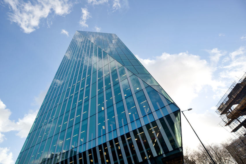 Architecture Building Building Exterior Buildings Built Structure Business Business Building Business District City City Of London Cloud - Sky Economics Economy London Low Angle View Modern Office Building Reflection Sky Skyscraper My Commute The Street Photographer - 2016 EyeEm Awards The Architect - 2016 EyeEm Awards The City Your Design Story