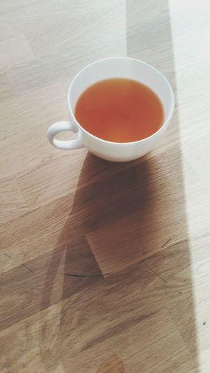 Rooibos with lemon and vanilla. Last light of the day. Teaoftheday Tea Lover Looseleaf Tea