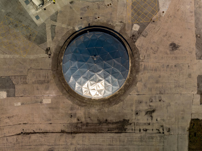 Shape Architecture Low Angle View Circle Geometric Shape No People Built Structure Building Pattern Directly Below Round Water Treatment Plant Water Treatment London