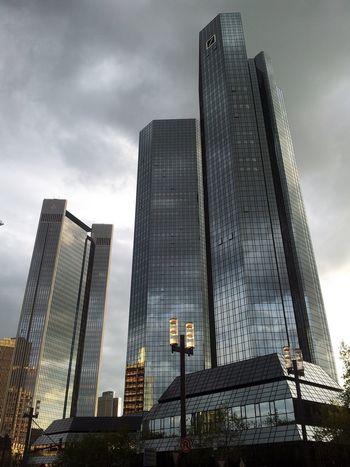 Deutsche Bank Deutsche Bank Architecture Built Structure Building Exterior Building City Sky Tall - High