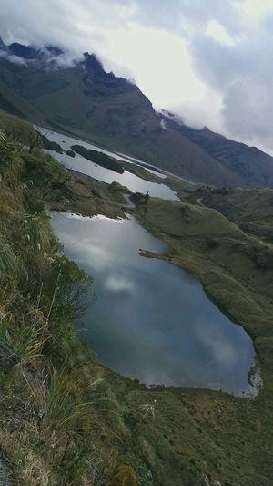 No People Nature Lagoons Atillo Ecuador♥
