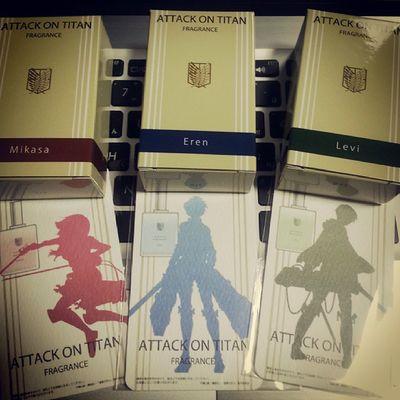香水 Snk Aot Mikasa Eren levi