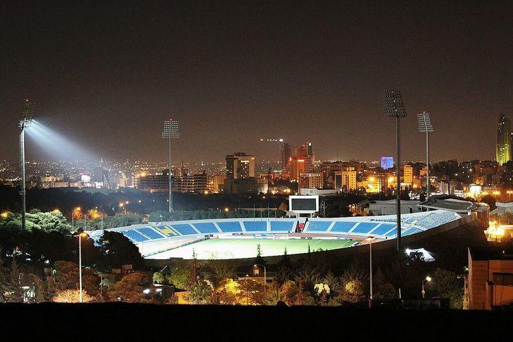 Amman Stadium In Jordan