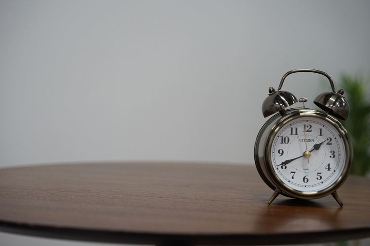 silent and time.you can't see.Alarm Clock Time Clock No People Clock Face Minute Hand Indoors  Close-up