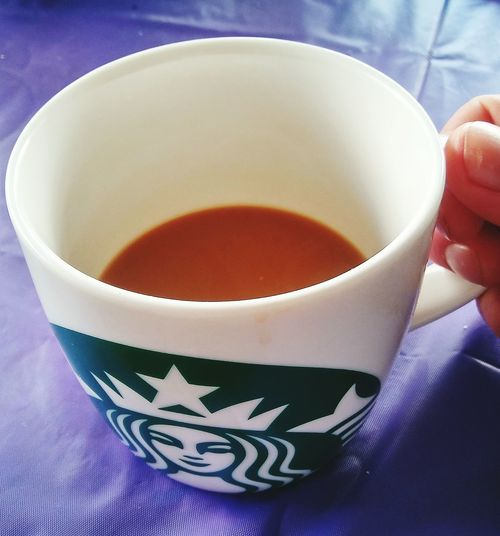 Coffee Coffee Cup Sturbucks Fingers Drink Close-up Food And Drink