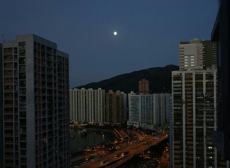 Early Morning Tsuen Wan Hong Kong