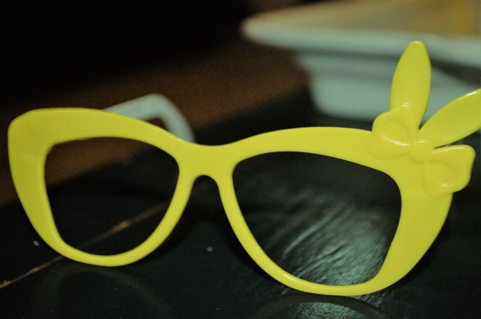 Paint The Town Yellow Yellow Close-up No People Indoors  Table Glassess