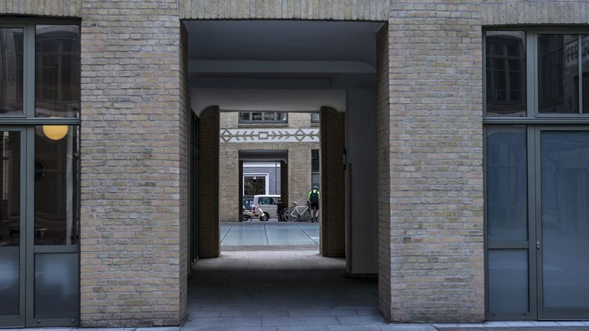 Arch Architecture Building Building Exterior Built Structure Car City Day Direction Door Entrance Incidental People Mode Of Transportation Motor Vehicle Open Outdoors Street The Way Forward Transportation