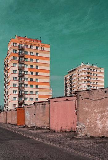 Blocks Modernist Architecture Building Exterior Industry City