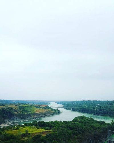 The majestic Cagayan River from the top of Magat Dam Wheninisabela Travelphotography Traluluphilippines Landscape Wtnadventures ExplorePH Adventureph Travelph Sinopinas Siisabela