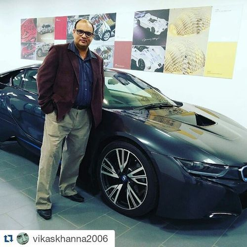Repost @vikaskhanna2006 with @repostapp ・・・ Bmwi8 J2E Lifegoals Mciindialive Mciindiakickoff Innovate2succeed Journey2excellence Excellence @work