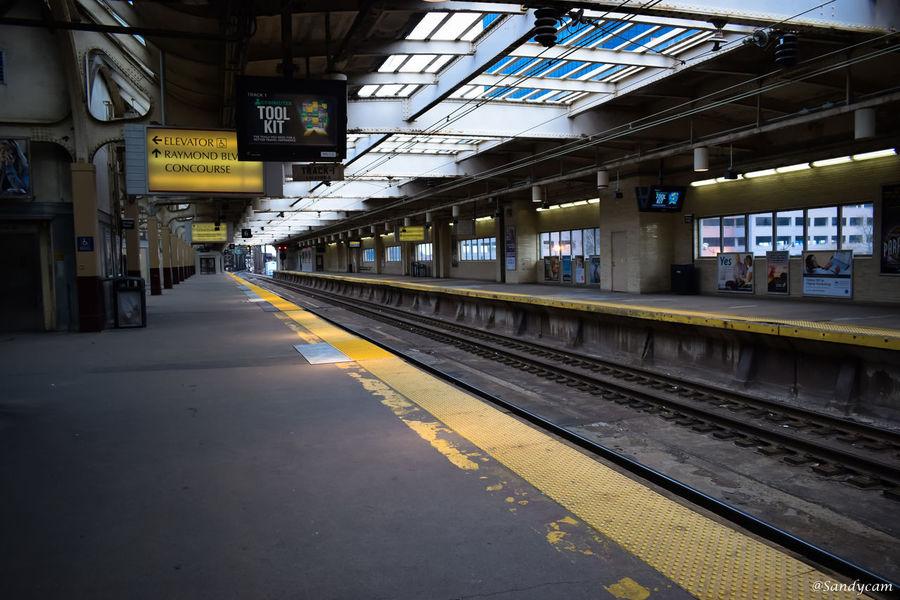 #NewYork  #newyorkcity Day Outdoors Public Transportation Rail Transportation Railroad Station Railroad Station Platform Railroad Track Transportation
