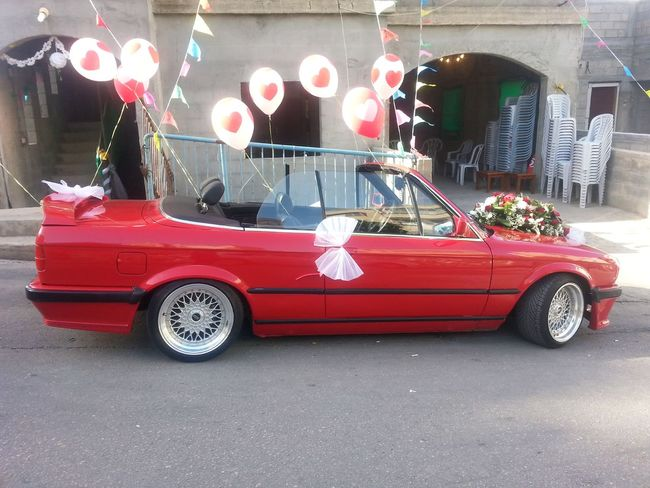 By Me Taking By Me Taking Photo MyPhotography Myphoto Photography Photo Bmw Bmw Car Red Bmw Red Car Red Color Balloons Decorated Car Decorate Married Eyeem Car Lovers Eyeem Cars EyeEm Car EyeEm Party Married Party Married Couple Married Life Cars