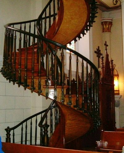 Spiral Staircases Wood Carving Wooden Spirals Church woodwork Natural Beauty Steps Stairs