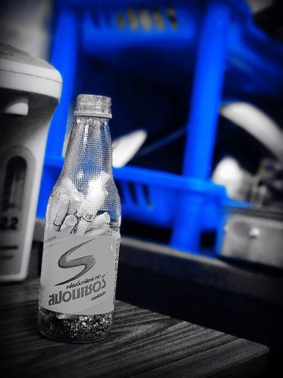 Blue Bottle No People BabyAlienZ Photo By IPhone7plus