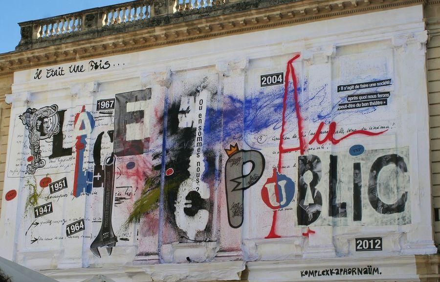 Wall Art Festival Avignon City