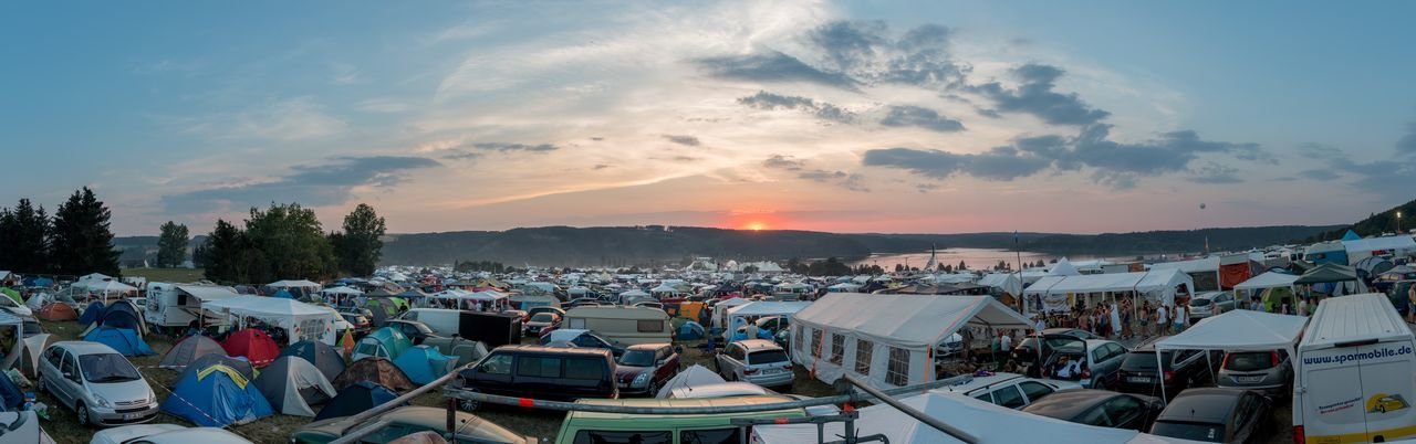Campingplace at SMSX9 BEATS Cloud - Sky Culture Festivallife Fun Lifestyle Outdoors Scenics SMS Sonnemondsternefestival Sunset Tents X9 Musicfestival Festival Season Festival Fever
