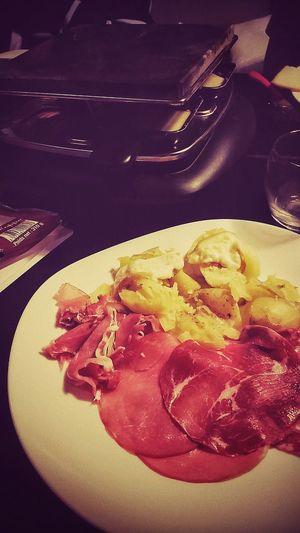 Raclette party Food Lessablesdolonne Friends