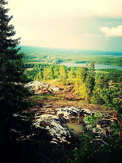 Nature Hiking Landscape Taking Photos
