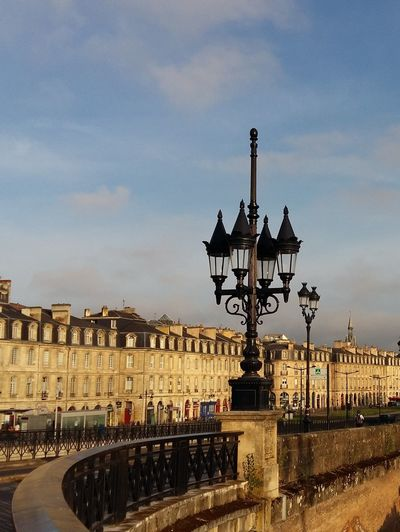Bordeaux Les Quais Architecture History Travel Destinations No People Lighting Equipment Facades Facades And Light Outdoors Cloud - Sky Cityscape Light And Shadow Tourism Lines And Curves The Architect - 2017 EyeEm Awards Adventures In The City