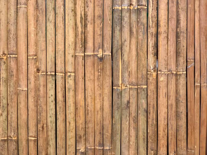 Bamboo strips wallpaper Wood - Material Backgrounds Full Frame Door Brown Textured  Pattern Old-fashioned Outdoors No People Close-up Day