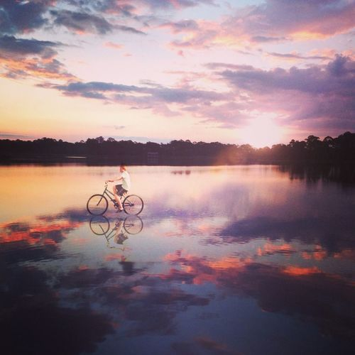 Early Morning Bike Ride The Illusionist - 2014 EyeEm Awards