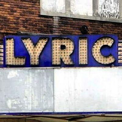 Lyric Theater in Across Georgia Theaters Cinematreasures Lettergetter Signage signgeeks justsigns onlysigns