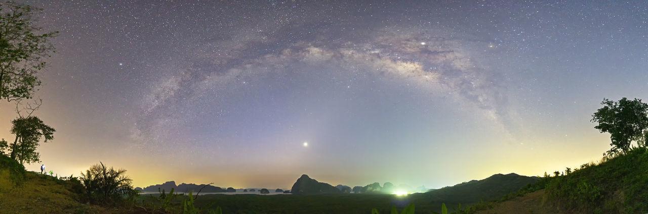 Milky Way over