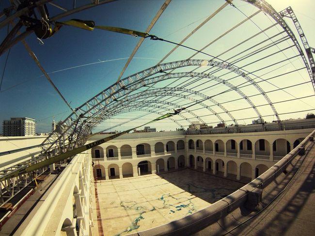 Veracruz Go Pro Hero 3 Geometric Abstraction Arquitecture Navy