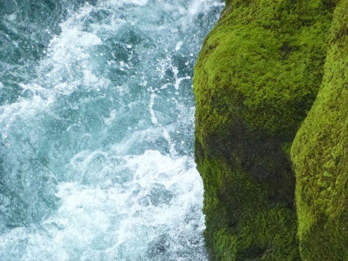 I 💖 NZ Huka Falls, NZ Water Waterfall Nature Natural Beauty Green Nature's Diversities Beauty In Nature